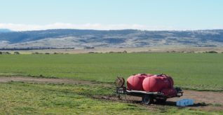 Tasmanian farmers saving waste from landfill