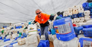 Beyond the bin with agvet containers