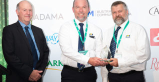 drumMUSTER recognises outstanding contributions to the program at Agsafe Awards