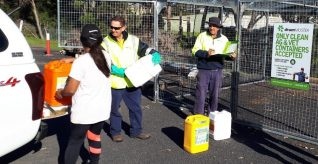 Bega Valley Council sets up new drumMUSTER collection point in Bermagui